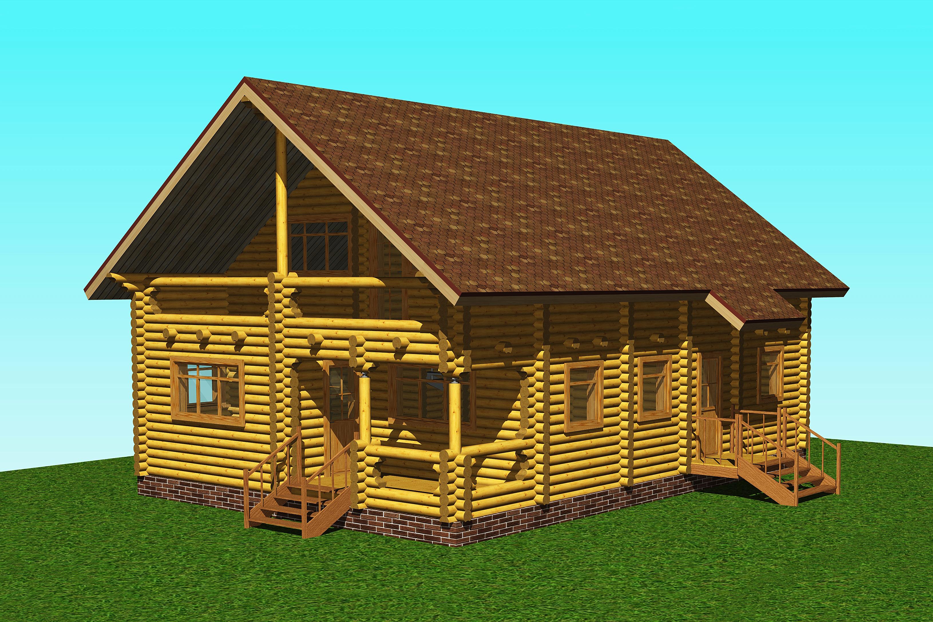 Построили дом на базе отдыха Велес