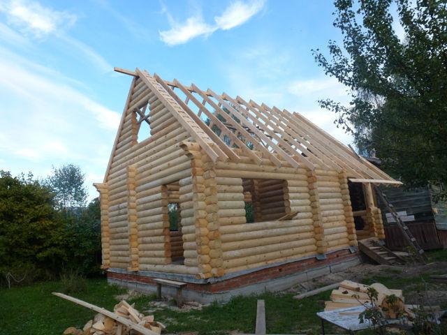 Построили дом в д Пигасово Камешковский район