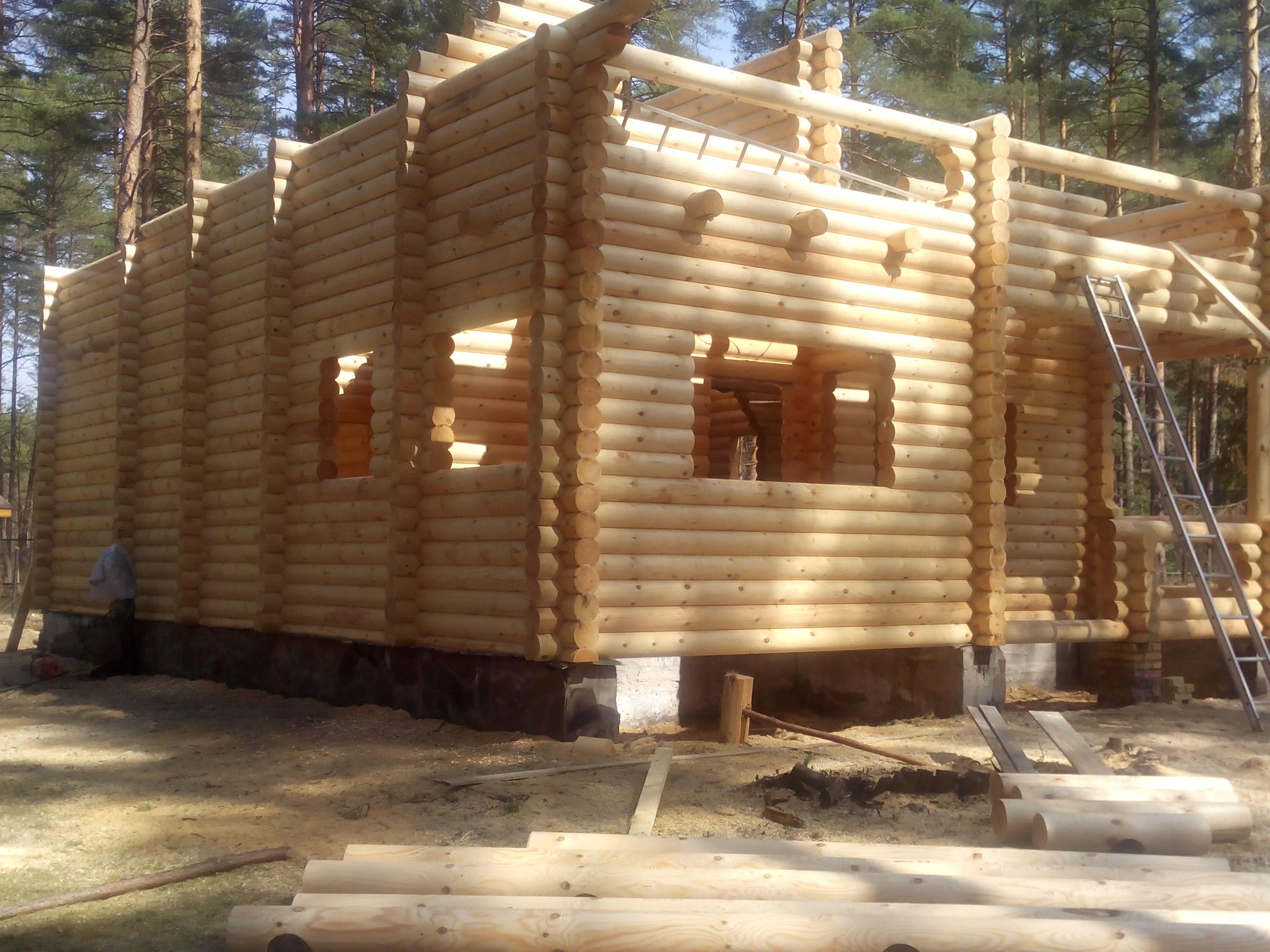 Построили дом на б о Велес