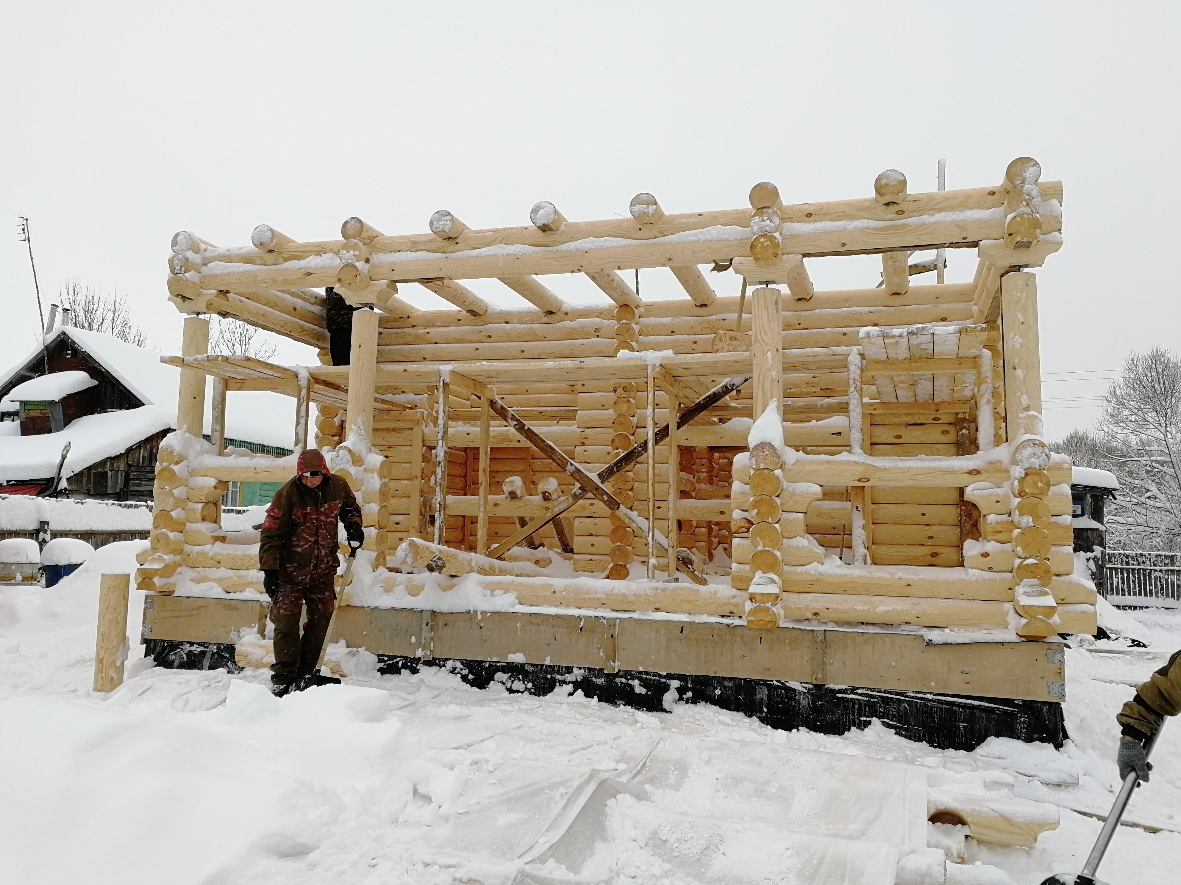 Построили дом в Пенкино