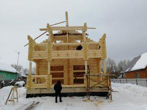 Строительство дома в Пенкино