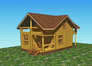 Баня дом в Боголюбово во Владимирской области