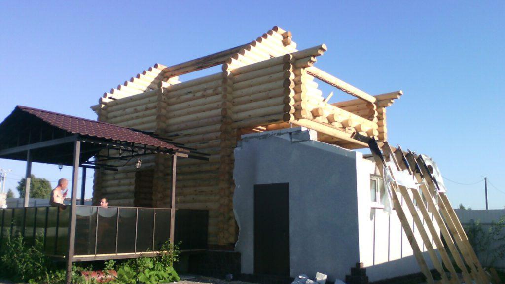 Построили баню в д. Суворотское 24 Д